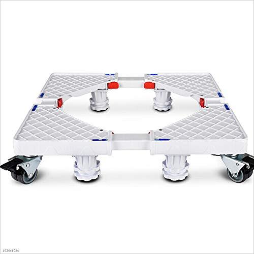 Verstellbar Mobile Base (Weißes Vierbeiniges Achtrad-Mobiles Einfahr Bares Modell Kühlmaschine Base)