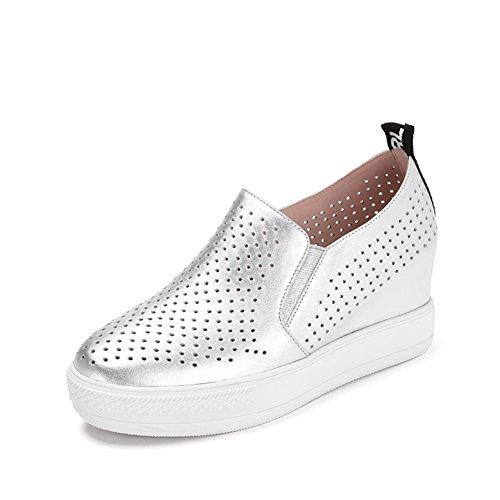 Primavera scarpe/Un pedale tempo libero scarpe Argento