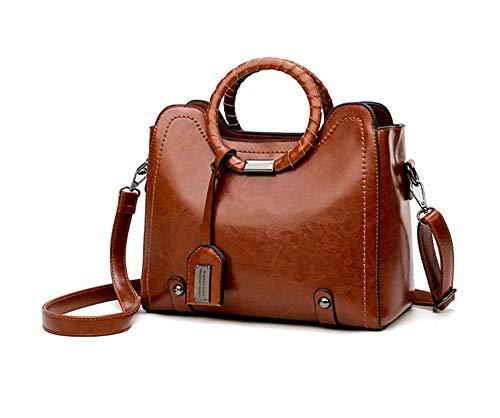 Handtasche, Umhängetasche, Umhängetasche, Top-Handle Women Soft PU Business Tote Luxury Casual Ladies Single Shoulder Bags Crossbody Bags Womens Handbags -