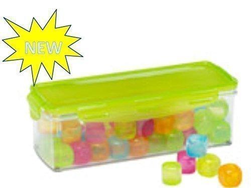 Eiswrfel Wiederverwendbar Neu In Aufbewahrungsbox Menge 48 Stck Gefrierbox