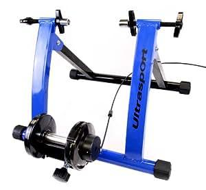 Ultrasport Fahrrad Rollentrainer Set mit schaltbaren Gängen – TÜV geprüft