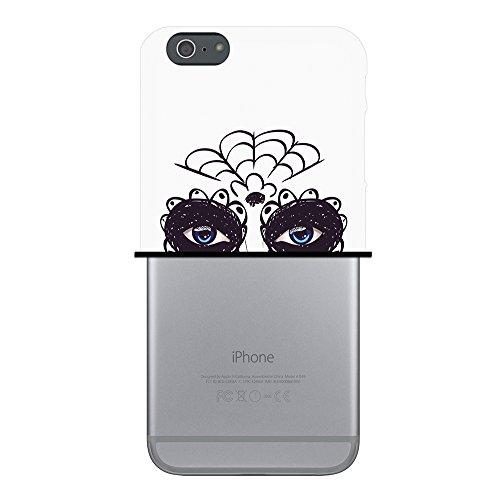 WoowCase Hülle Case für { iPhone 6 Plus 6S Plus } Handy Cover Schutzhülle Zuckeriges Skelett mit Make-up Housse Gel iPhone 6 Plus | 6S Plus Transparent D0371