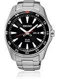 Seiko SNE393P1 Solar  - Wristwatch men's, Stainless Steel, Band Colour: Grey