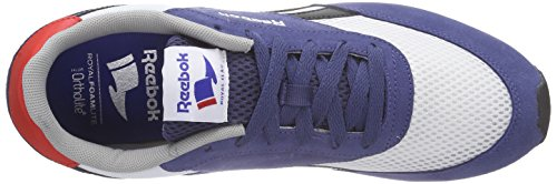 Reebok Herren Royal Classic Jogger Laufschuhe Blau (Midnight Blue/White/Black/Motor Red/Tin Grey)