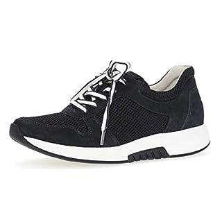 Gabor 26.946 Damen Sneaker,Low-Top Sneaker, Frauen,Halbschuh,Sportschuh,Schnürschuh,atmungsaktiv,Optifit- Wechselfußbett,Nightblue,9 UK