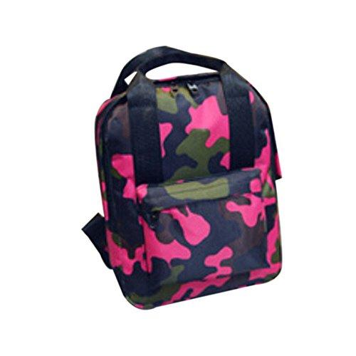 TianranRT , Damen Rucksackhandtasche Hot Pink