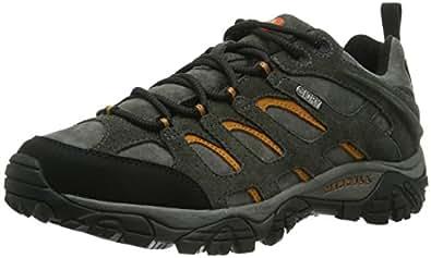 Merrell Moab Leather, Men's Lace-Up Low Rise Hiking Shoes - Beluga, 7 UK