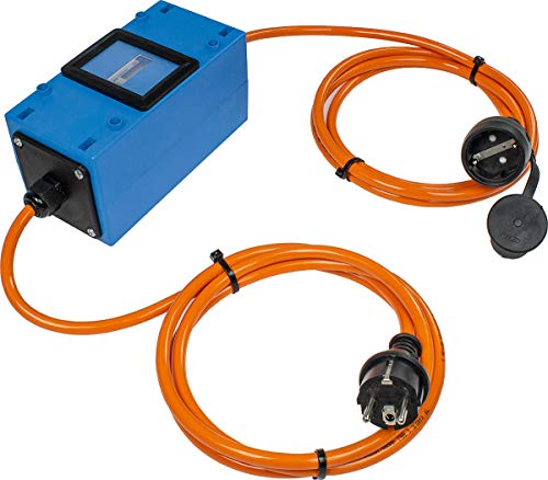 as - Schwabe 61742 MIXO Stromzähler, 230 V, Blau