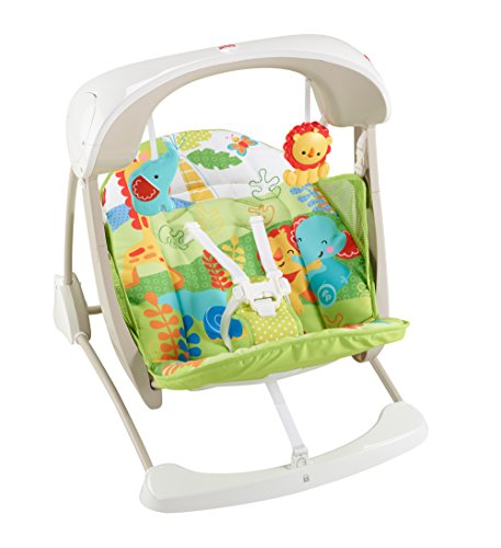 Fisher-Price Take-Along Swing and Seat, Rainforest Friends by Fisher-Price