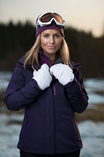 Twentyfour Ifjord Veste outdoor Femme - Veste hardshell avec membrane TFT ombre-mauve