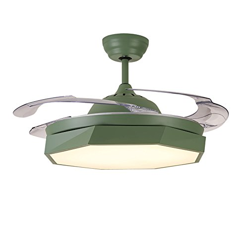 Stealth Fan Light Ventilador De Techo Luz Sala De Estar Comedor Dormitorio  Hogar Fan Chandelier Led