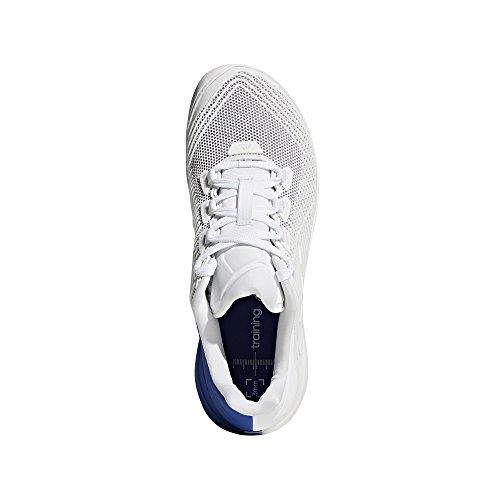 adidas Herren Crazypower Trainer Gymnastikschuhe Grau (Ftwr White/grey/collegiate Royal Ftwr White/grey/collegiate Royal)