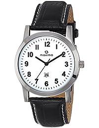 Maxima Analog White Dial Men's Watch-44676LMGI
