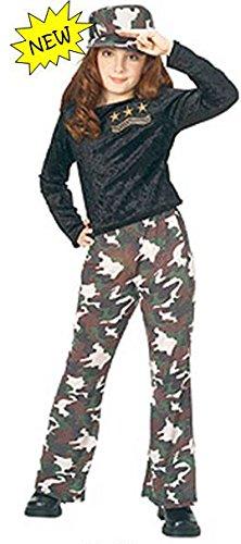 U.S. Diva Pop Star Soldier Kostüm - Rubies 38832