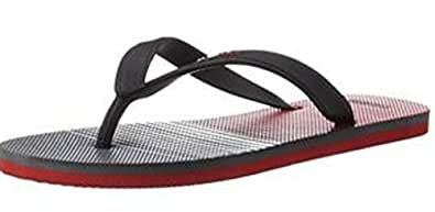 Puma Unisex Sam DP Vintage Indigo and Barbados Cherry Flip Flops Thong Sandals - 6 UK/India (39 EU)