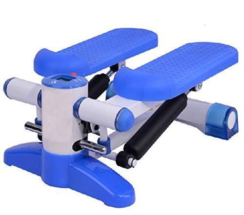 ALOOVOO Stepping Machine Multifunzione - Esercizio aerobico -Silent Hydraulic Beauty Waist Machine per Anziani e Principianti