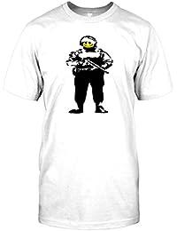 Banksy Graffiti Art - Soldier - Kids T-Shirt