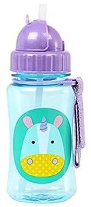 Skip Hop Zoo - Botella con pajita de recambio - BebeHogar.com