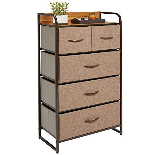 MDesign Cómoda dormitorio 5 cajones - Mueble cajones
