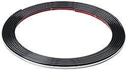 hr-imotion 12111101 Türkantenschutz silber / chrom (5 Meter) [L-Profil | Hochflexibel | Zuschneidbar   Selbstklebend]