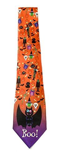 Stonehouse Collection Herren Halloween-Krawatte, lustige Halloween-Krawatte (Halloween Arbeitsplatz-kostüme Für)