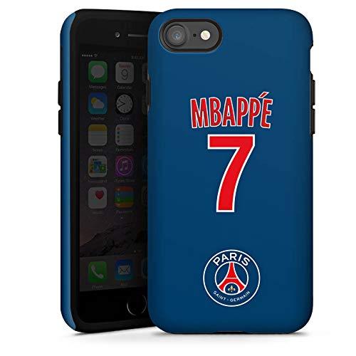 DeinDesign Apple iPhone 7 Hülle Tough Case Schutzhülle Paris Saint-Germain PSG Trikot Mbappé