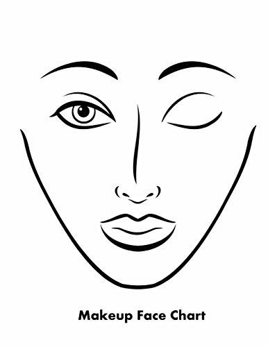 makeup-face-chart
