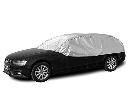 Preisvergleich Produktbild Solux - Sonne und Frost Scheibenschutz - Size und Model: L-XL hatchback/kombi - Halbgarage Autoabdeckung KEG-SX-LXL-HK-03