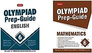 Olympiad Prep-Guide English Class - 6&Olympiad Prep-Guide Mathematics Class - 6(Set of 2 Bo