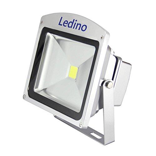 Ledino Ledisis High Power LED-Flutlichtstrahler, 30 W, kalt/warmweiß Kaltweiß