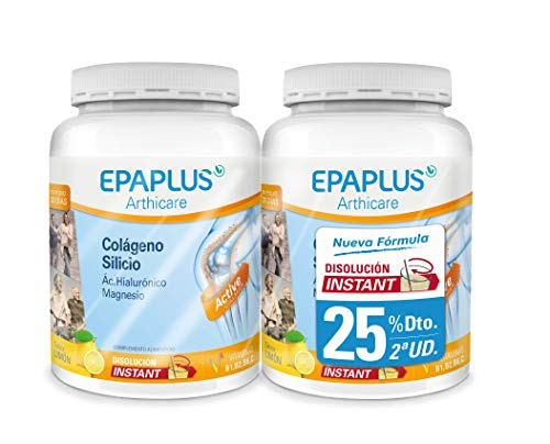 Epaplus Pack Colageno Polvo Instant Limon - 652 gr
