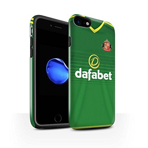 Offiziell Sunderland AFC Hülle / Glanz Harten Stoßfest Case für Apple iPhone 7 / Larsson Muster / SAFC Trikot Away 15/16 Kollektion Fußballer