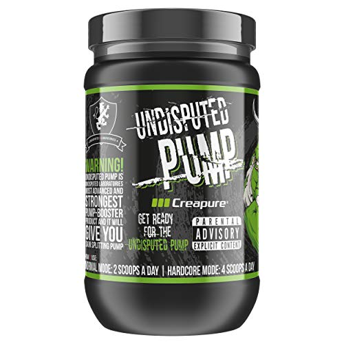 Undisputed Pump Booster 1000 g I Pre-Workout I Booster I Fitness I Pump I Trainingsbooster I Bodybuilding I CREAPURE I Creatin I R-ALA I AAKG (Cherry)