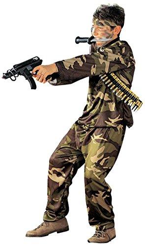 Imagen de iden  disfraz de soldado del ejército militar para niño, talla 8  10 años s/38407