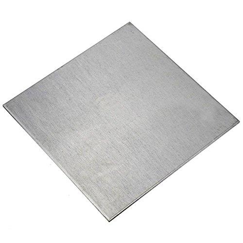 MYAMIA 2x100x100mm Titanblech TA2/GR2