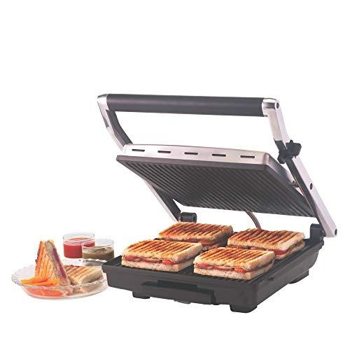 1. Borosil Super Jumbo 2000-Watt Grill Sandwich Maker