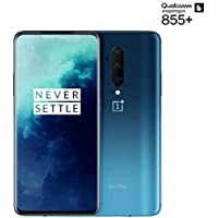 OnePlus 7T Pro Smartphone Haze Blue | 8 GB RAM + 256 GB Speicher | 16,9 cm AMOLED Display 90Hz Screen | Triple Kamera + Pop-up Kamera | Warp Charge 30