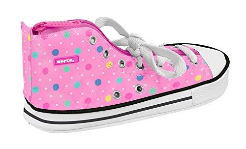 Safta Estuche Safta Dots Pink Oficial Escolar 240x70x120mm