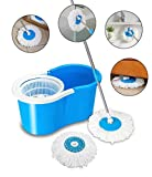 Best Spin Mops - Ketsaal Spin Bucket Mop with 2 Refills- Super Review