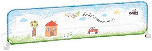 CAM Il mondo del bambino V493/222 Barriera letto Dolcenanna Pop, Verde