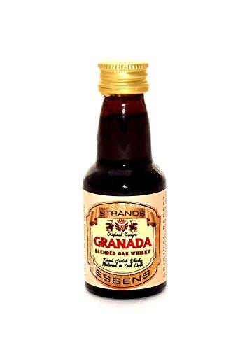 Strands Granada - Aroma de Ron para Vodka o Alcohol, Sabor a membrillo, levadura Turbo, para Licor