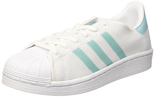 Adidas Superstar W, Zapatillas De Baloncesto Blancas Para Mujer (ftwwht / Easmin / Ftwwht)