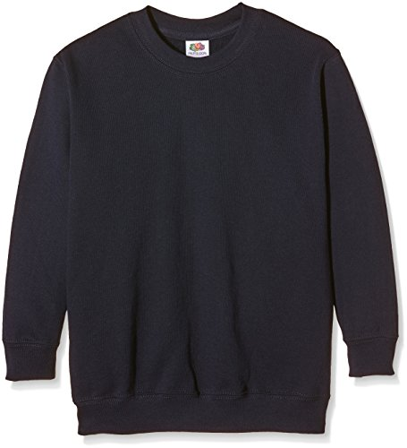Fruit of the Loom Unisex Kids Set-In Classic Sweater
