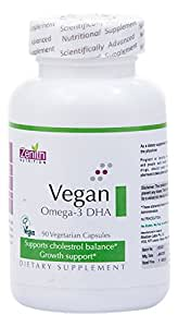 Zenith Nutrition Vegan Omega 3 DHA - 90 Capsules