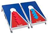 Original Cornhole Board Set - College - 2 Cornhole Boards, 8 Bean Bags und Regelwerk