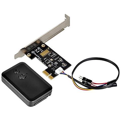 SilverStone SST-ES01-PCIe - 2.4G Funk-Fernbedienung für PC Power / Reset, PCIe