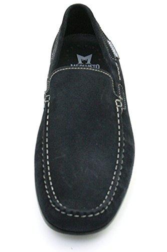 Mephisto ALGORAS VELOURS 9851 DARK BROWN P5051586 Herren Slipper Jeans Blue