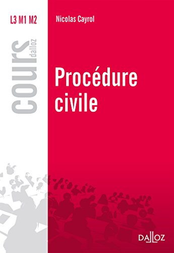 Procédure civile (Cours)