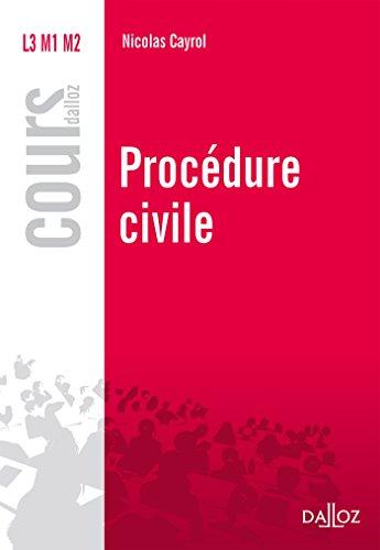 Procdure civile (Cours)