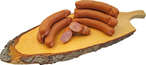 Käse Knacker | Käsewurst nach Debrecziner Art | Krainer | Mettwurst geräuchert gefüllt mit Emmentaler | 10 x 100g